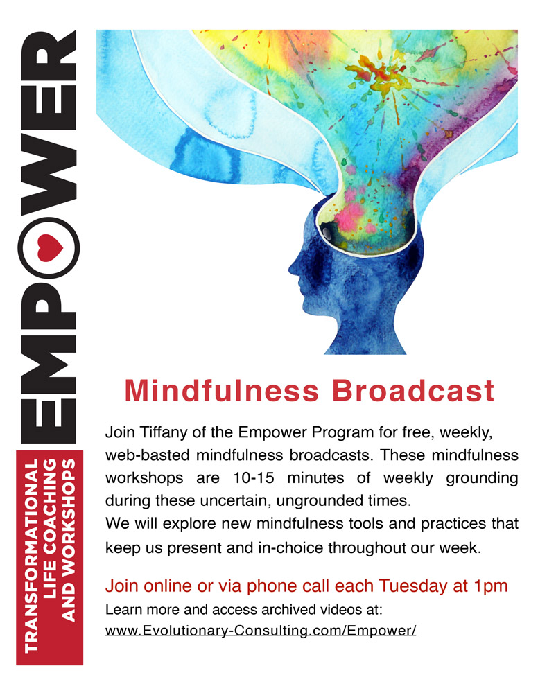 Free Mindfulness Broadcast with Tiffany @ online