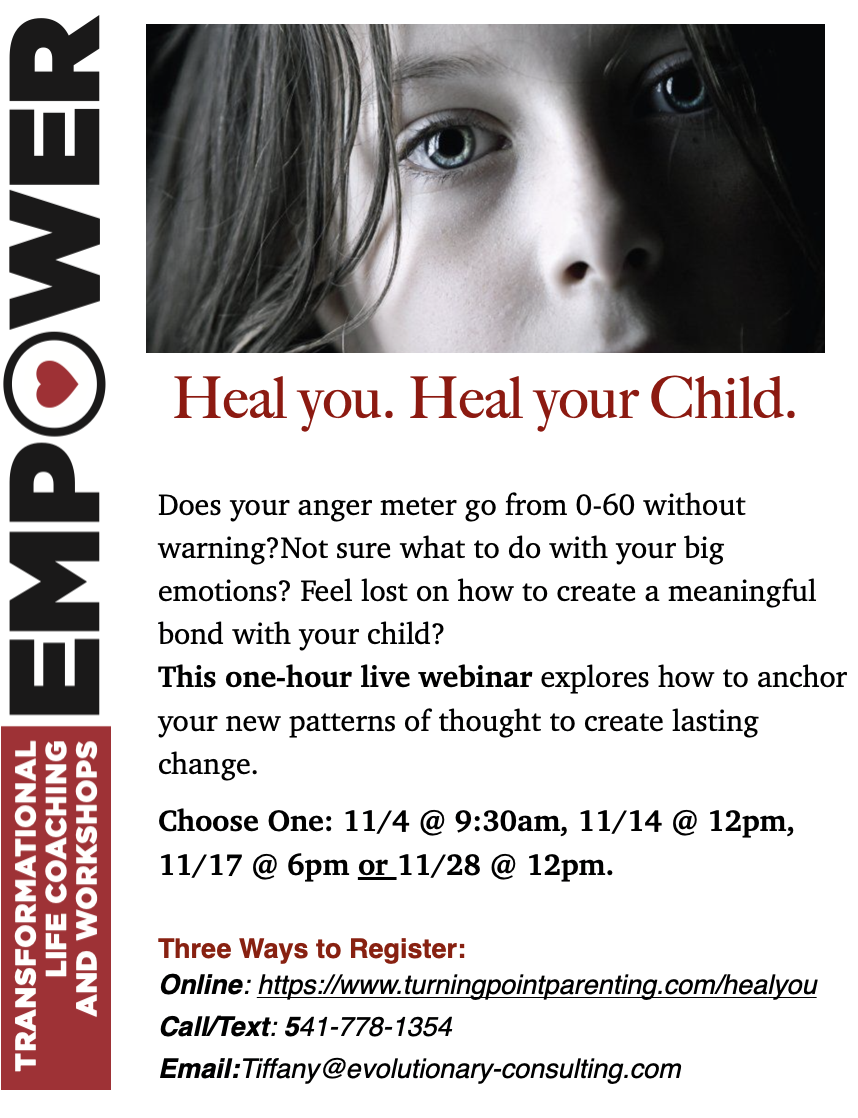 Parenting Workshop: Heal You. Heal Your Child.